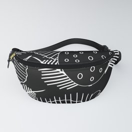 Dysfunctional Fruit Silhouettes Fanny Pack