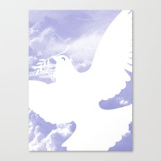Peace All Over Canvas Print