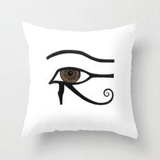 Eye of Horus Throw Pillow