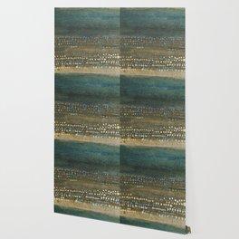 Landscape Dots - Night Wallpaper