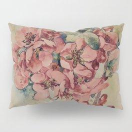 Flowering Japanese quince 2 Pillow Sham