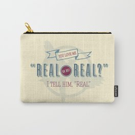 Read or Not Real Carry-All Pouch