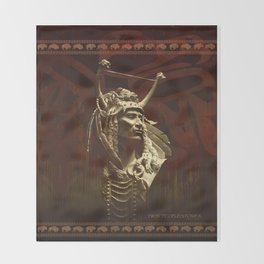 First peoples Power Throw Blanket