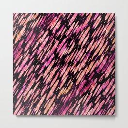 Fruit Stripe Brushstroke Metal Print