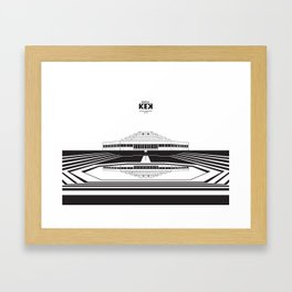 Architecture of Rapla KEK Framed Art Print