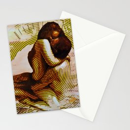 Embers Remix Stationery Cards