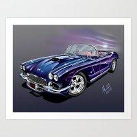 Corvette Classic Art Print