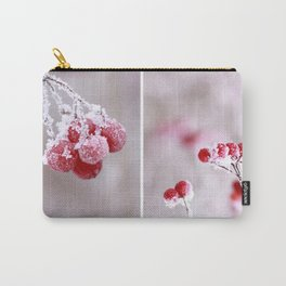 Red Berries Quadro Carry-All Pouch