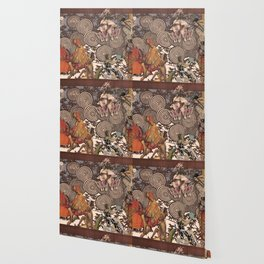 Dawn at The Ballets Russes Wallpaper