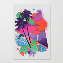 Tropix 96 Canvas Print