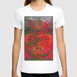 Chaos Face- Glowing Ember T-shirt