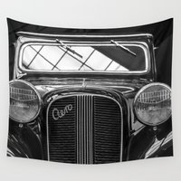 car Wall Tapestries featuring Car by Veronika