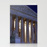 supreme Stationery Cards featuring Supreme court by Dr. Tom Osborne