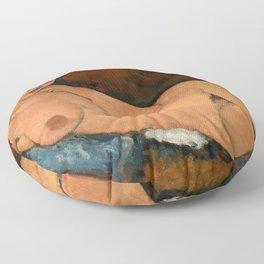 "Amedeo Modigliani ""Nude on a Blue Cushion"" Floor Pillow"