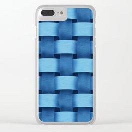 Braid patterns Clear iPhone Case