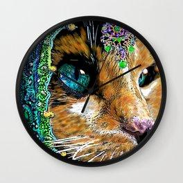 Calico Indian Bride - Cats Feline Catitude Wall Clock