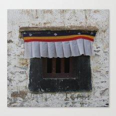 Potala Window Canvas Print