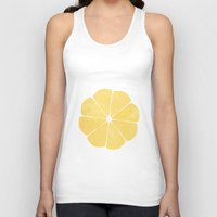 lemon Tank Tops featuring Lemon by Make-Ready