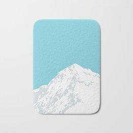 Snow Capped Mountain Bath Mat
