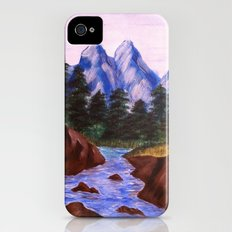 Mountain Stream iPhone (4, 4s) Slim Case