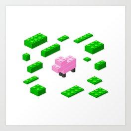 LEGOSHEEP Art Print
