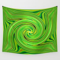racing Wall Tapestries featuring Racing.... by Cherie DeBevoise