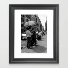 No Rain Framed Art Print