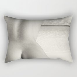 Nudist Beach Rectangular Pillow
