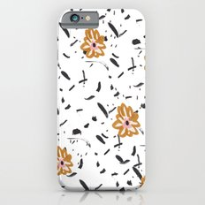 Daisy. Illustration, flowers, print, design, pattern, floral, fashion, drawing, Slim Case iPhone 6s