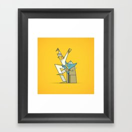 The Return of the Karate Kid Framed Art Print