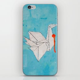 Paper Bird iPhone Skin
