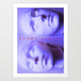 Schwaidamaka Art Print