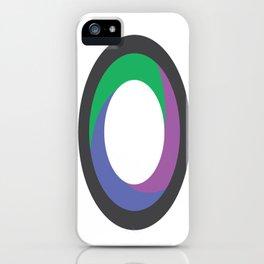Kenon Lamont Thompson   Journalism & Photography (Logo) iPhone Case