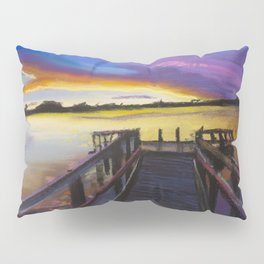 Shelley Bridge Sunset Pillow Sham
