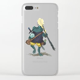 the sorcerer Clear iPhone Case