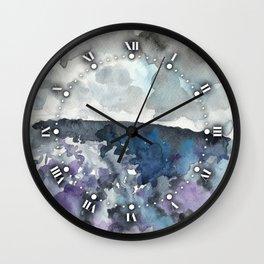 Storm Coming Wall Clock