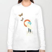 surfer Long Sleeve T-shirts featuring Surfer by Prints der Nederlanden