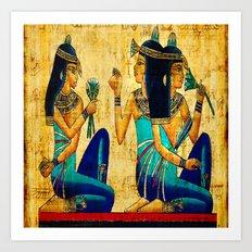 Egyptian Women Art Print