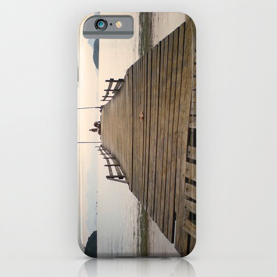 Waiting in paradise iPhone & iPod Case