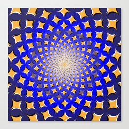 Spinning Pattern Canvas Print