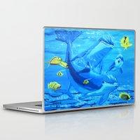 underwater Laptop & iPad Skins featuring Underwater by maggs326