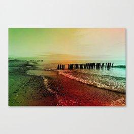 Colorful baltic sea Canvas Print