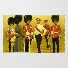 Vintage British Poster Rug