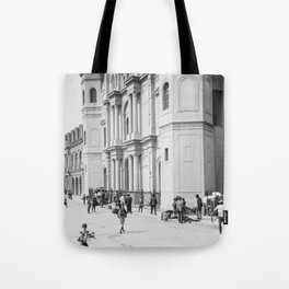 Saint Louis Cathedral, New Orleans 1910 Tote Bag