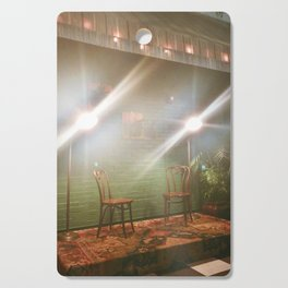 Emptiness and Light Cutting Board