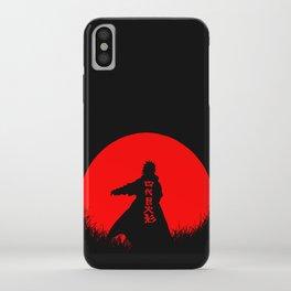 Red Moon Minato iPhone Case