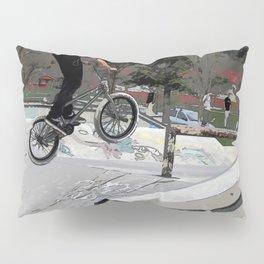 """Getting Air"" - BMX Rider Pillow Sham"