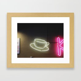 Diner 02 Framed Art Print