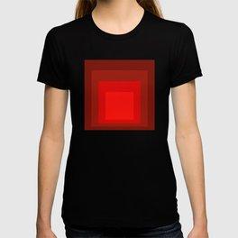 Block Colors - Reds T-shirt