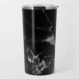 Black Marble I Travel Mug